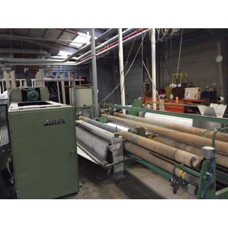 Aiguilleteuse à Cylindre ASSELIN machine industriel de confection