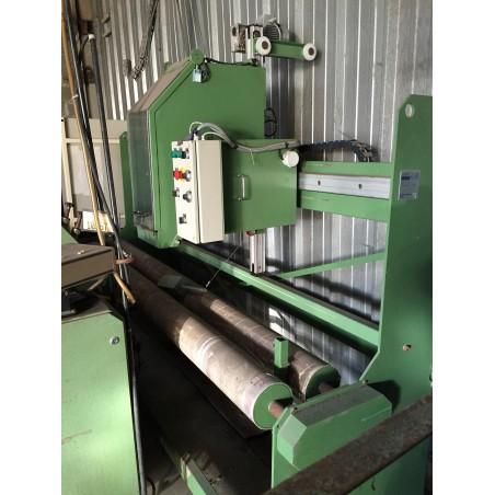Machine de découpe de tissu bobine DMT